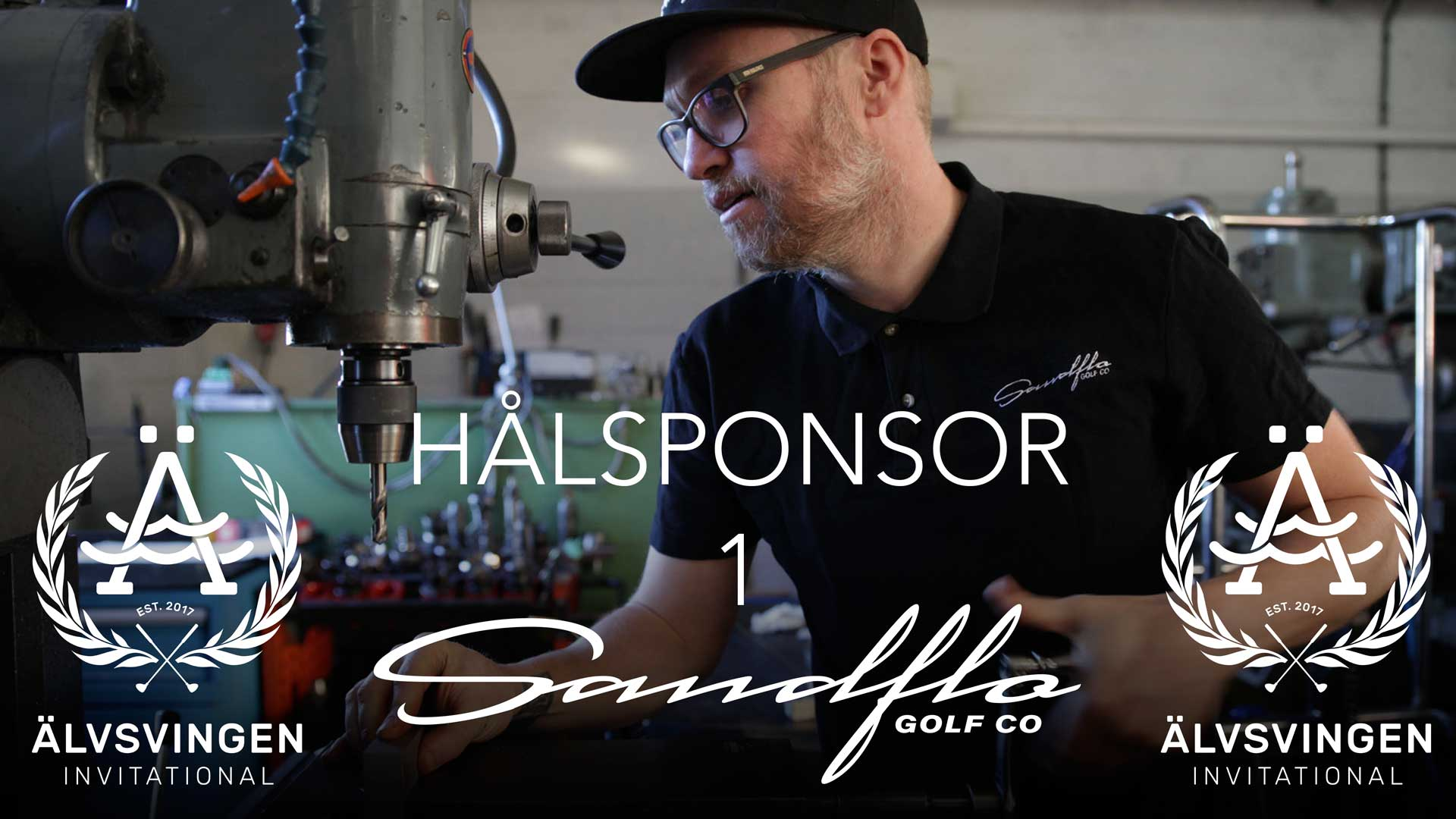 Vår första hålsponsor är Sandflo Golf med Johan Sandflo i spetsen.