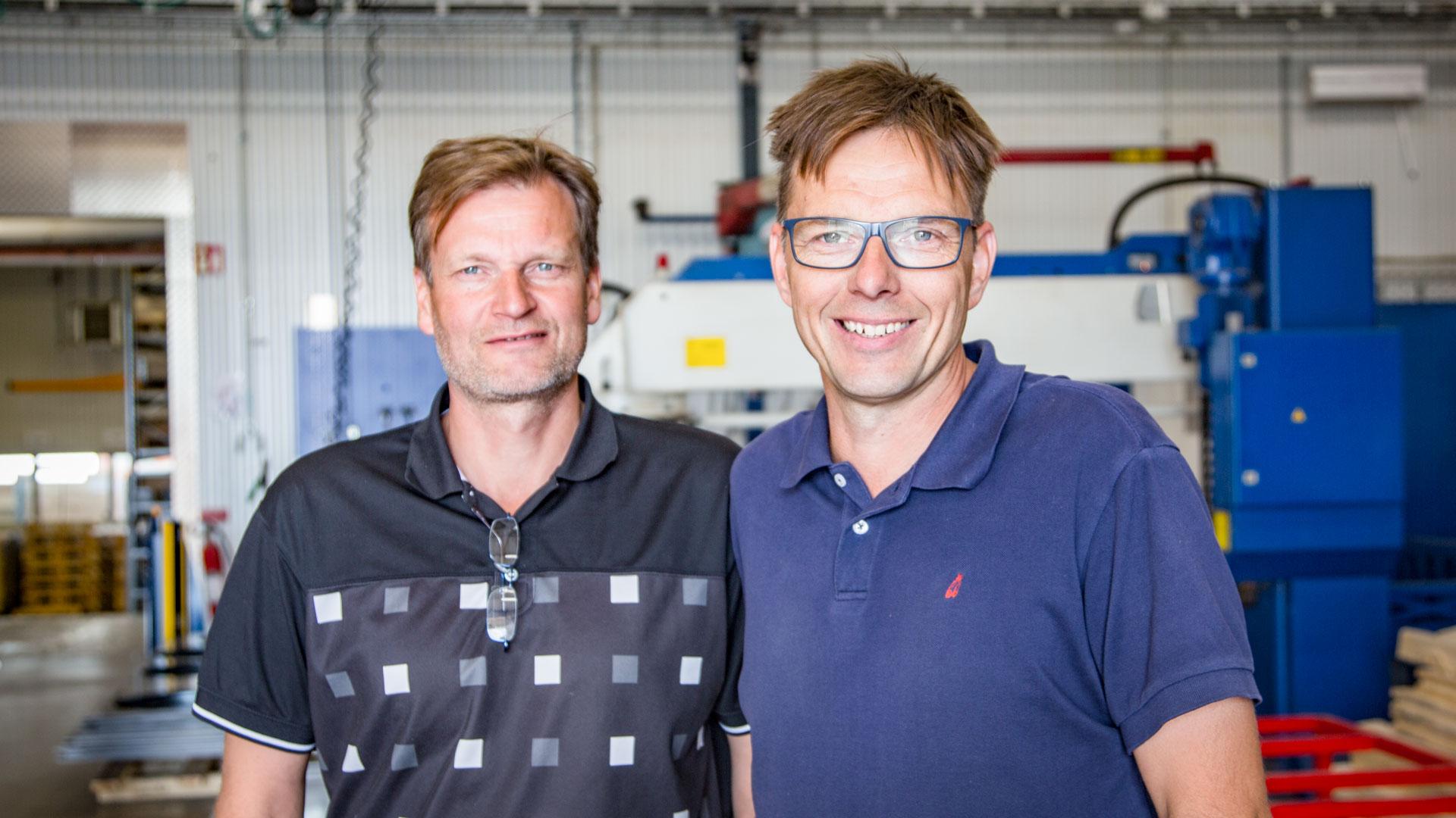 Bröderna Andersson och Trestad Laser sponsrar det 10:de hålet