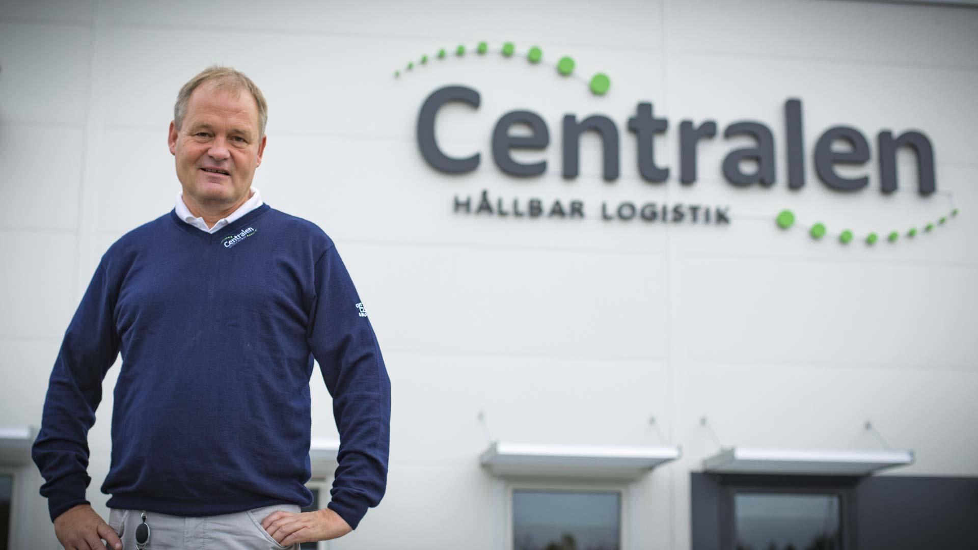 Centralen och vd:n Johan Carlén tror på en stark framtid i Tvåstad och nätverkande i goda sammanhang