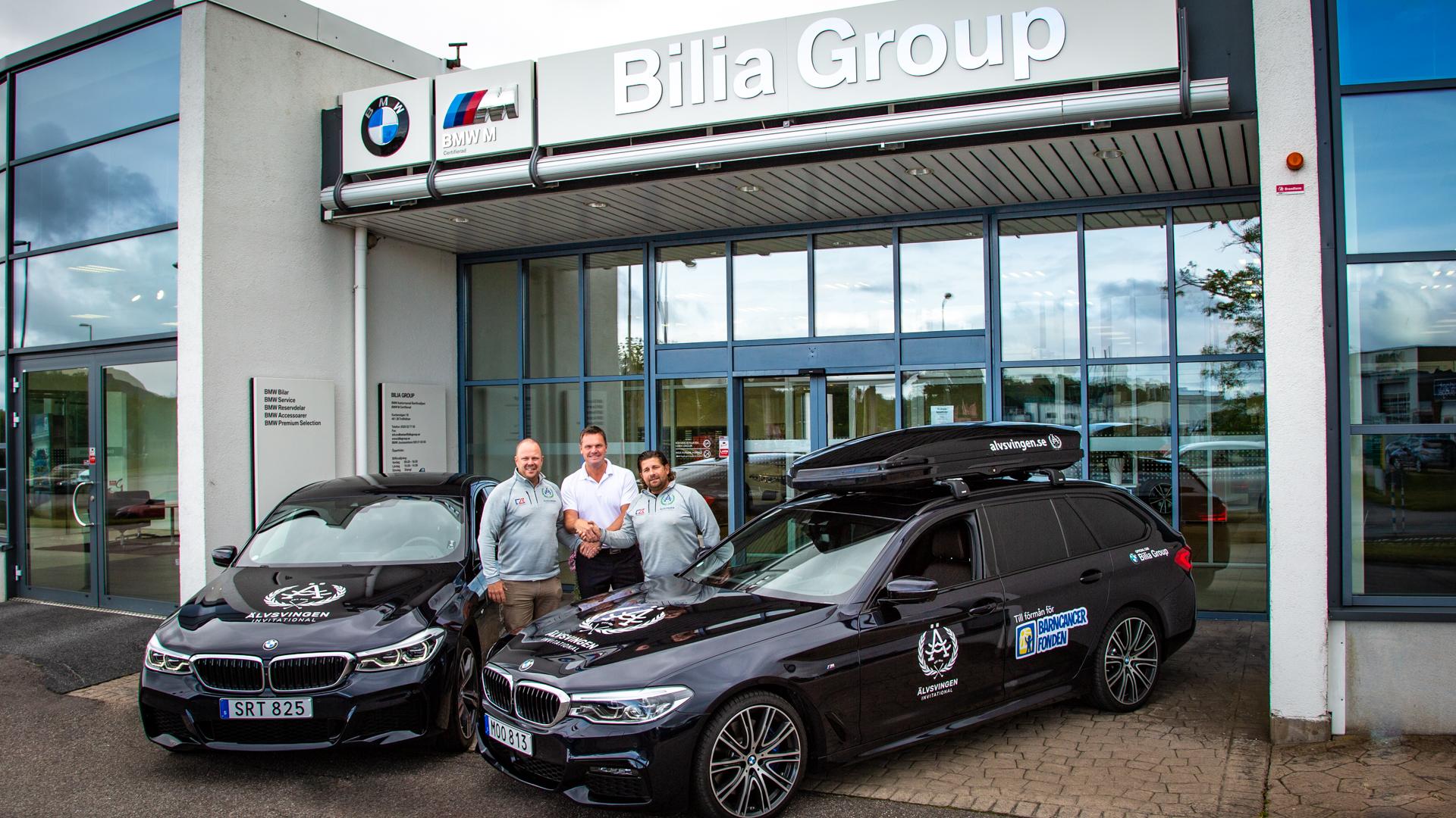 Bilia Group lyfter Älvsvingen Invitational framåt