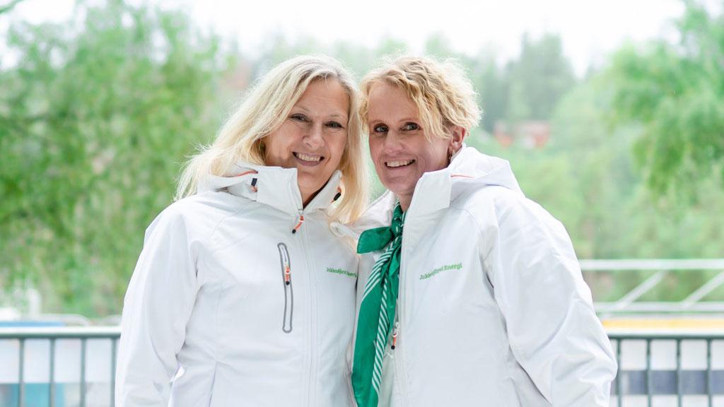 Jukkasjärvi Energi ger kraft åt Älvsvingen