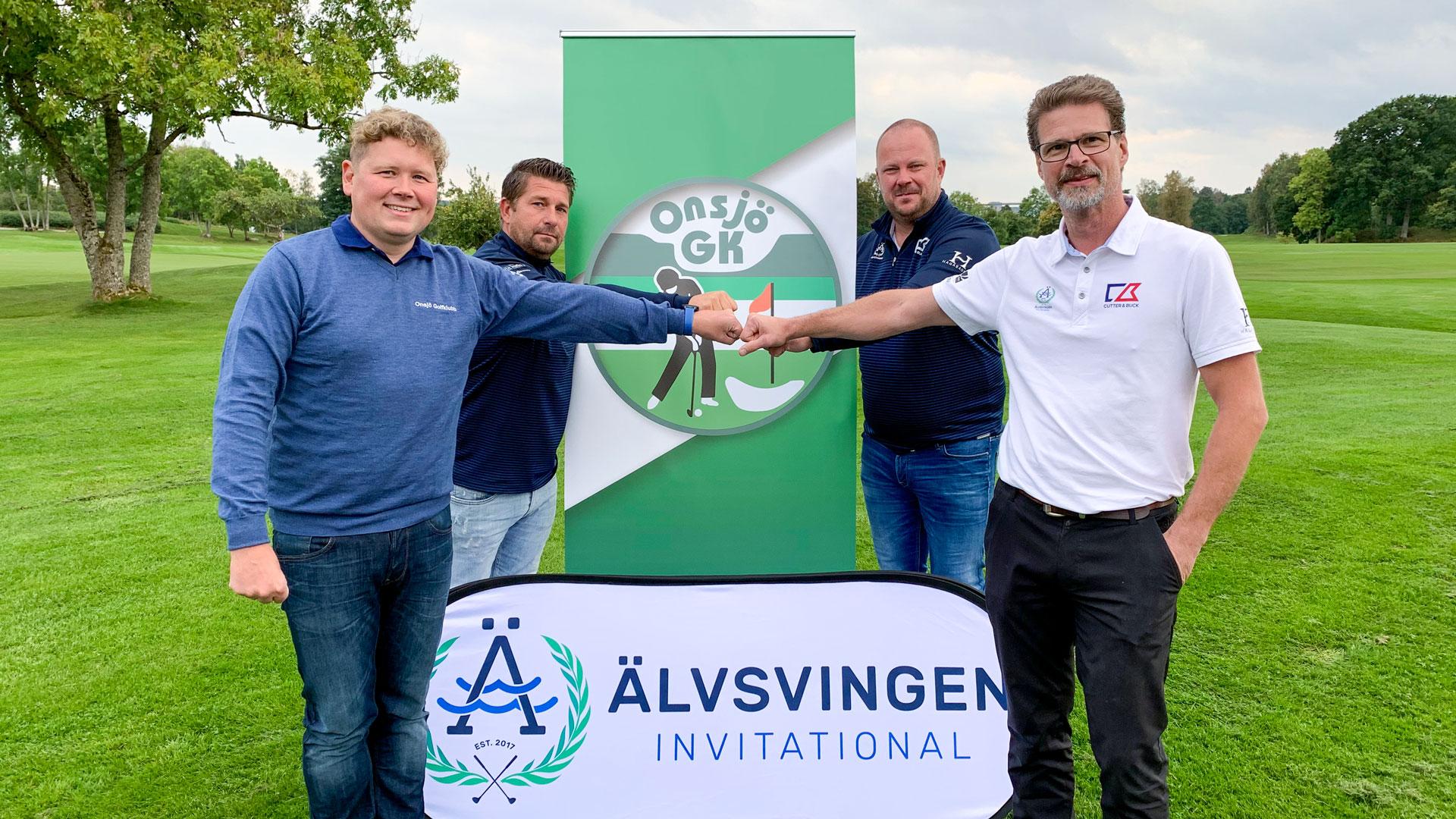 Onsjö Golfklubb och Älvsvingen ingår 5 årsavtal för evenemanget
