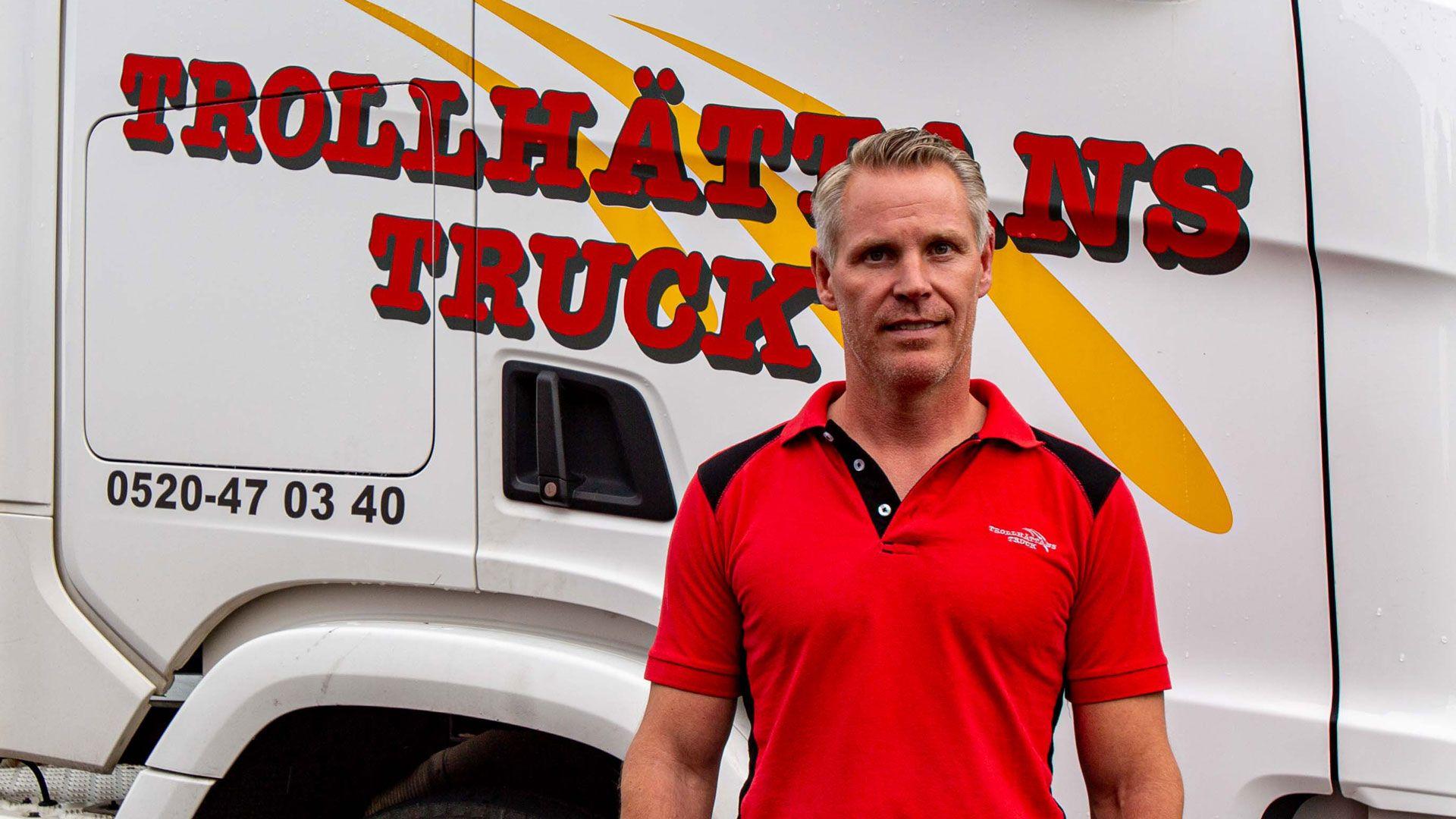 En av årets nya sponsorer är Trollhättan Truck!