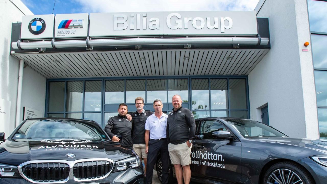 Bilia Group Trollhättan har levererat årets Älvsvingen bilar!